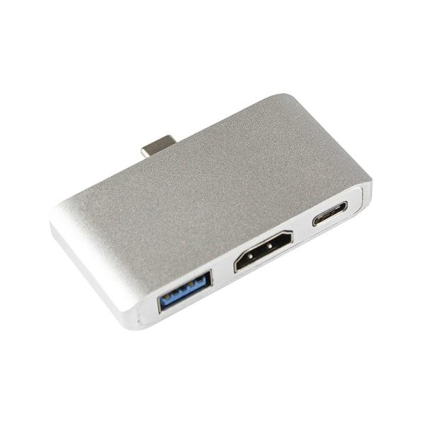 USB-C Digital HDMI Multiport Hub Silver