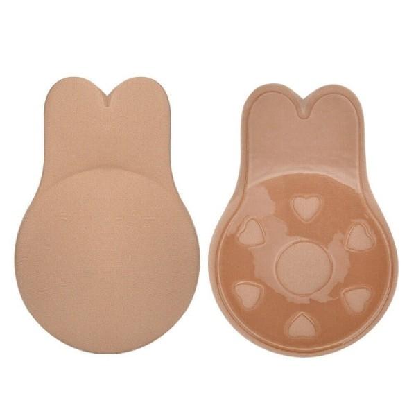 Självhäftande bh, Nipple cover - S/M Beige Beige one size