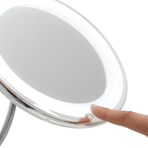 Sminkspegel med Förstoring och LED Vit