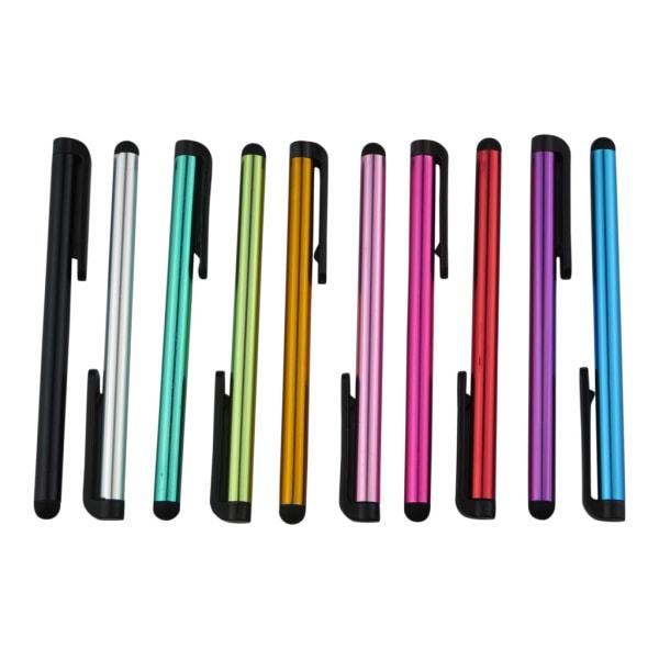Stylus Touchpenna i Metallic Färg - 10-pack multifärg
