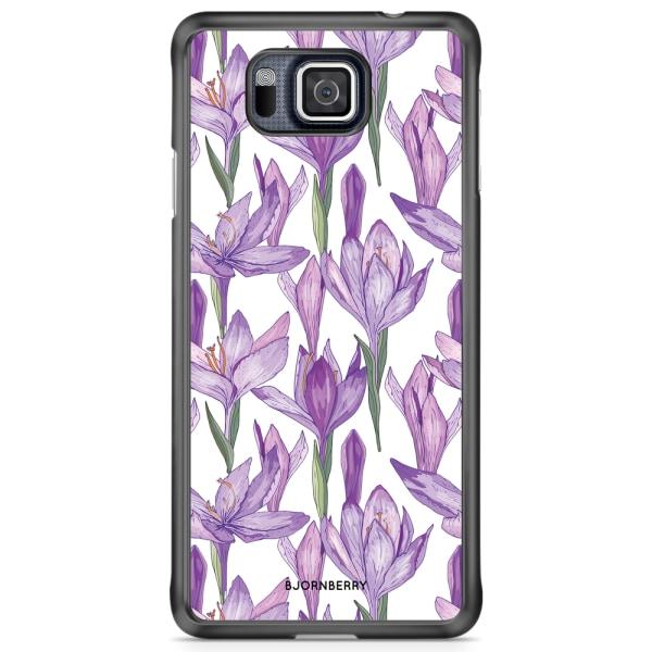 Bjornberry Skal Samsung Galaxy Alpha - Krokusar