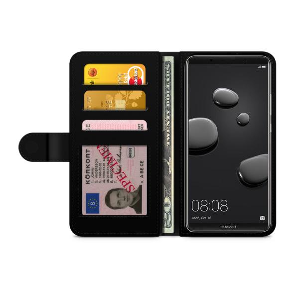 Bjornberry Fodral Huawei Mate 10 Lite - Guld Mandala