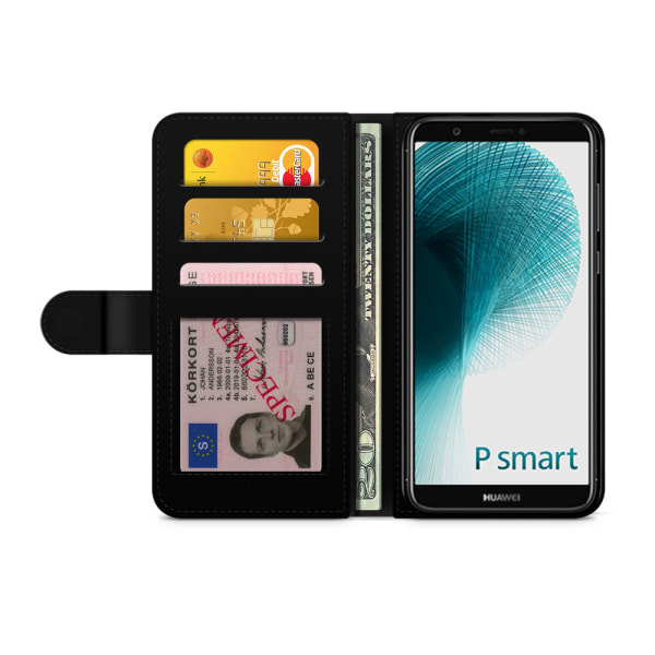 Bjornberry Fodral Huawei P Smart (2018) - Hipster Fjädrar