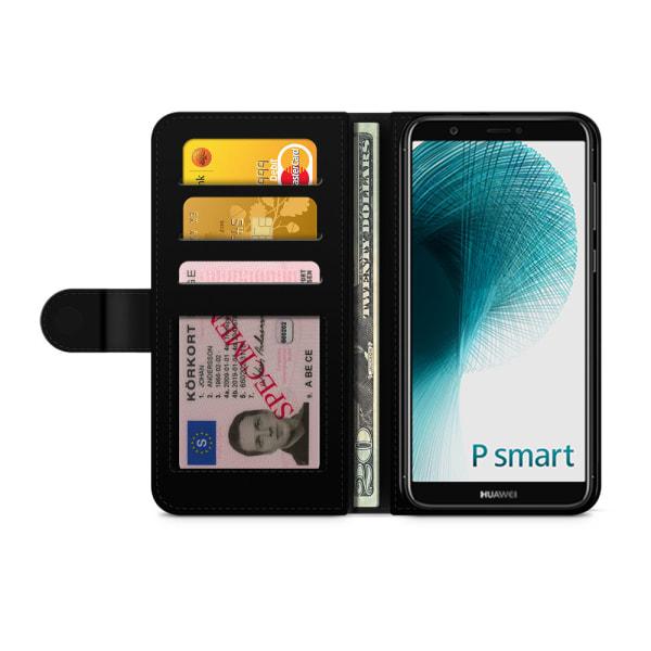 Bjornberry Fodral Huawei P Smart (2018) - Panter Mönster