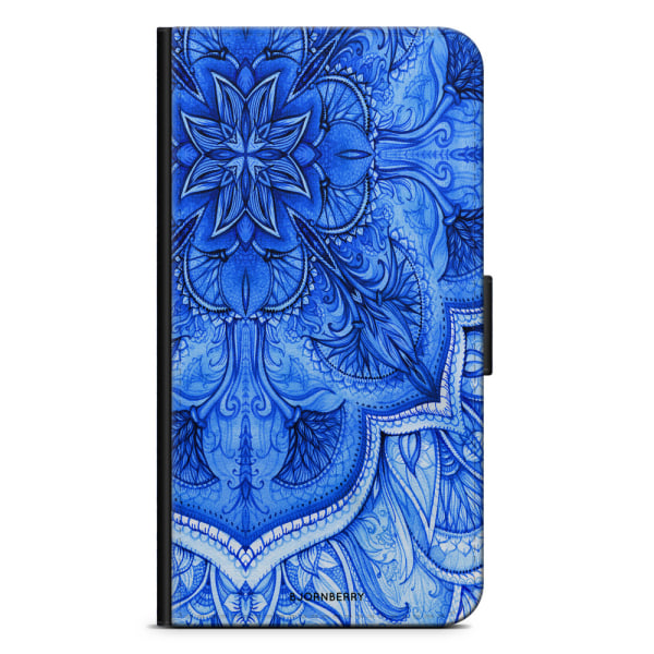 Bjornberry Fodral iPhone 6 Plus/6s Plus - Blå Vintage