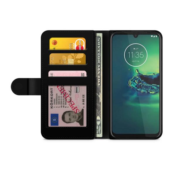 Bjornberry Fodral Motorola Moto G8 Plus - Världkarta Rymd