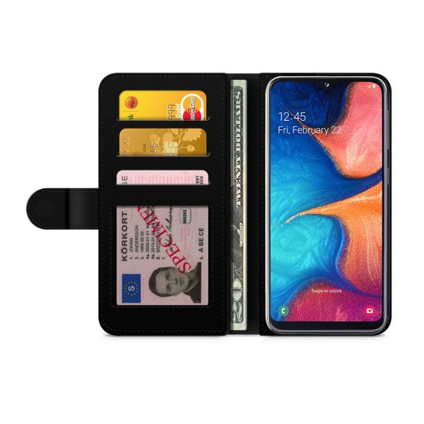 Bjornberry Fodral Samsung Galaxy A20e - Blixt