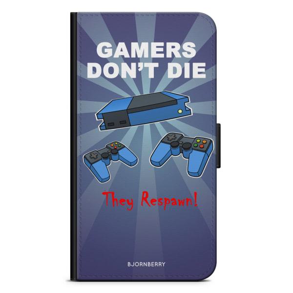Bjornberry Fodral Samsung Galaxy A40 - Gamers Dont Die