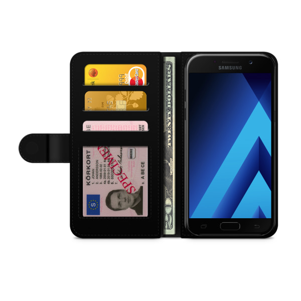 Bjornberry Fodral Samsung Galaxy A5 (2017)- Röda Rosor