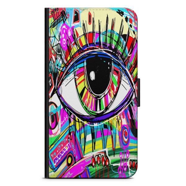Bjornberry Fodral Samsung Galaxy A6+ (2018)-Abstrakt Öga