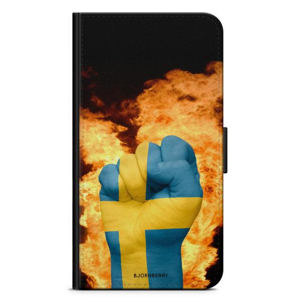 Bjornberry Fodral Samsung Galaxy A8 (2018)- Sverige Hand