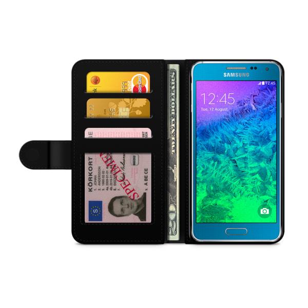 Bjornberry Fodral Samsung Galaxy Alpha - Guld Solar