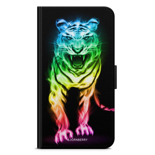 Bjornberry Fodral Samsung Galaxy J1 (2016)- Fire Tiger