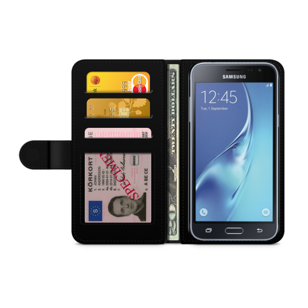 Bjornberry Fodral Samsung Galaxy J3 (2016)- Julmönster
