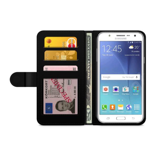 Bjornberry Fodral Samsung Galaxy J5 (2015)- Be Happy