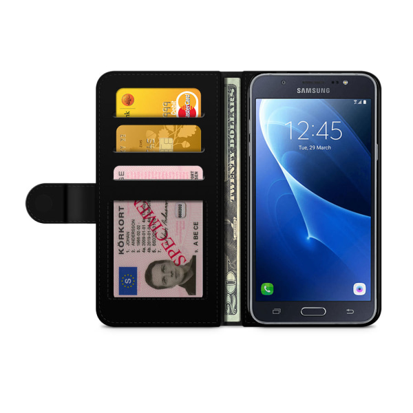Bjornberry Fodral Samsung Galaxy J7 (2016)- Blixt