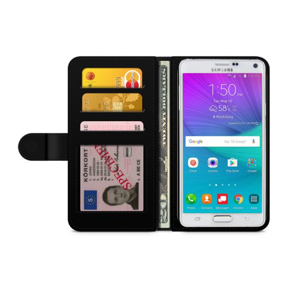 Bjornberry Fodral Samsung Galaxy Note 4 - Oldschool Dödskallar
