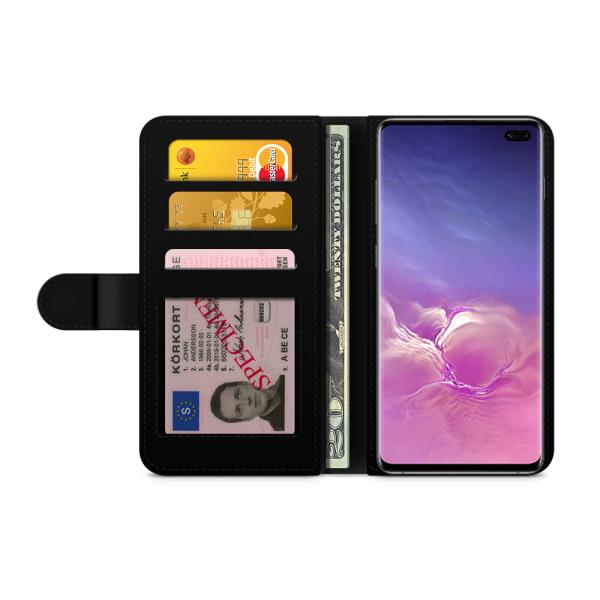 Bjornberry Fodral Samsung Galaxy S10 Plus - Grön Retromönster