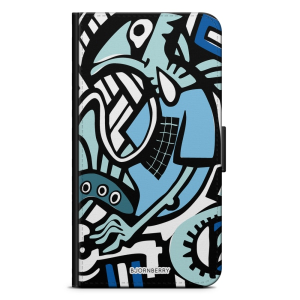 Bjornberry Fodral Samsung Galaxy S10 Plus - Grafitti Ödla