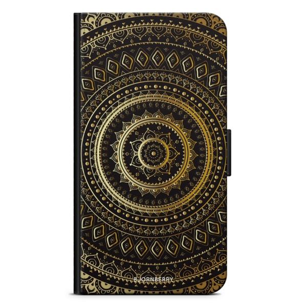 Bjornberry Fodral Samsung Galaxy S10 Plus - Guld Mandala