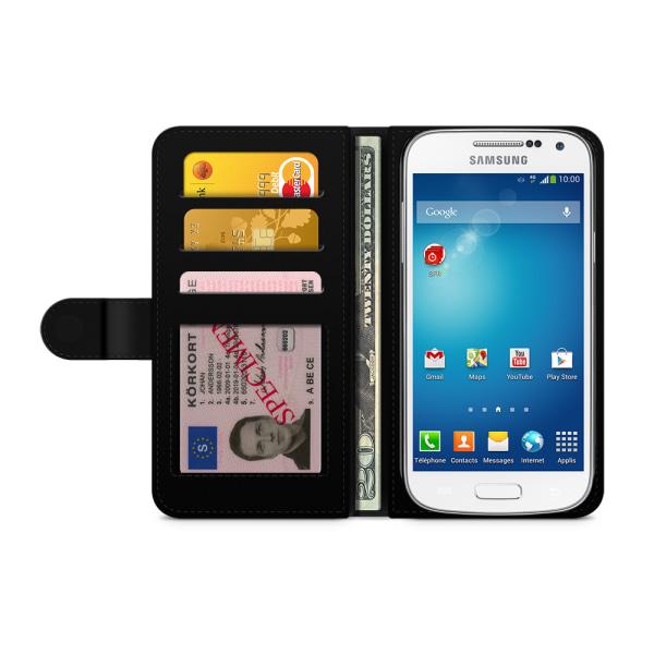 Bjornberry Fodral Samsung Galaxy S4 Mini - Kapten Katt