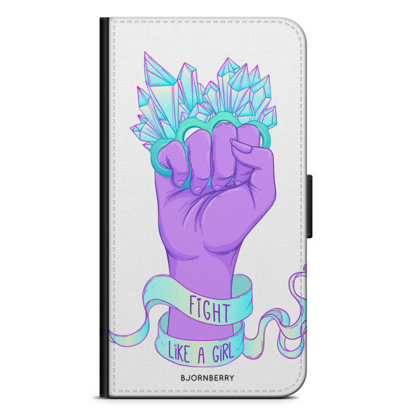 Bjornberry Fodral Samsung Galaxy S5/S5 Neo- Fight Like A Girl