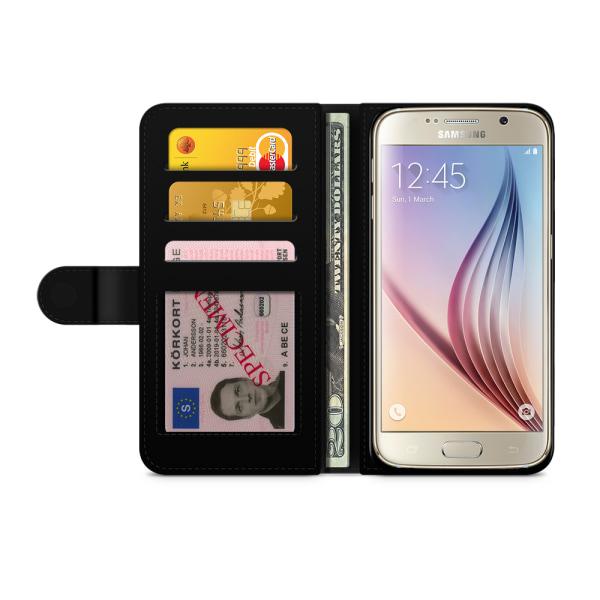 Bjornberry Fodral Samsung Galaxy S6 - Läpp-Glass