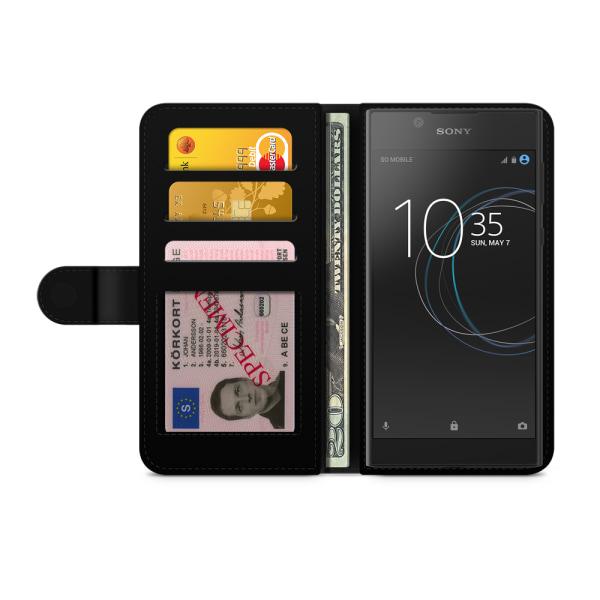 Bjornberry Fodral Sony Xperia L1 - Stålar