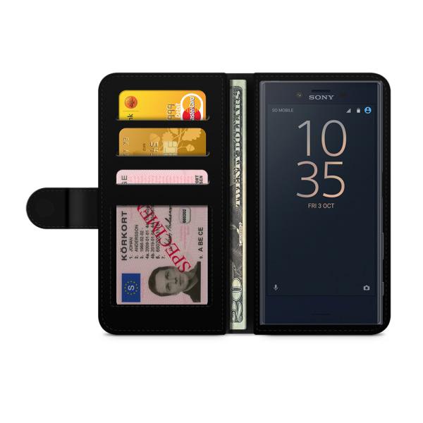 Bjornberry Fodral Sony Xperia XZ Premium - Gry