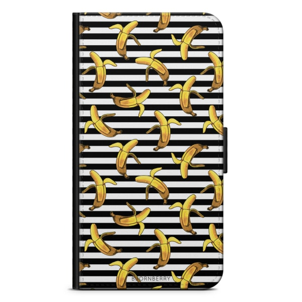 Bjornberry Fodral Sony Xperia XZ1 - Banan mönster