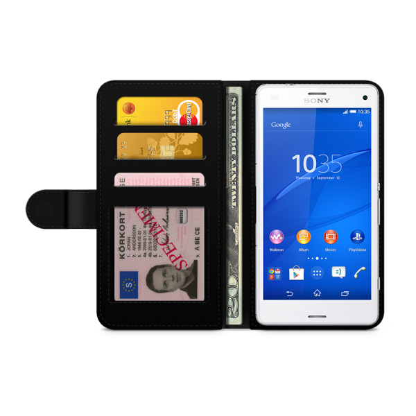 Bjornberry Fodral Sony Xperia Z3 Compact - Alisa