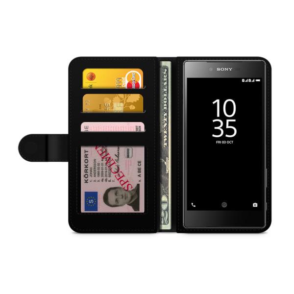 Bjornberry Fodral Sony Xperia Z5 Premium - Zebraöga