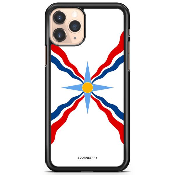 Bjornberry Hårdskal iPhone 11 Pro - Assyriska flaggan