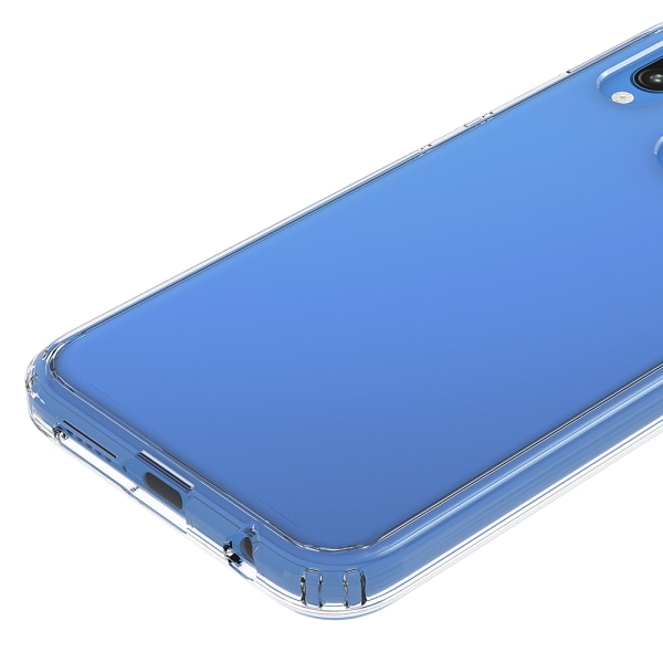 Bjornberry Hybrid Skal Huawei P20 Lite - STAY WEIRD Vit