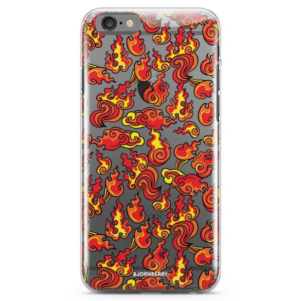 Bjornberry iPhone 6/6s TPU Skal - Eld