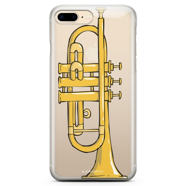 Bjornberry iPhone 7 Plus TPU Skal - Trumpet