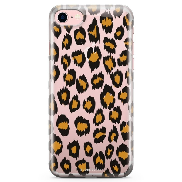 Bjornberry iPhone 7 TPU Skal - Leopard