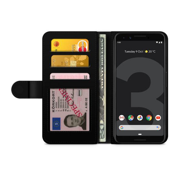 Bjornberry Plånboksfodral Google Pixel 3 - Monogram A