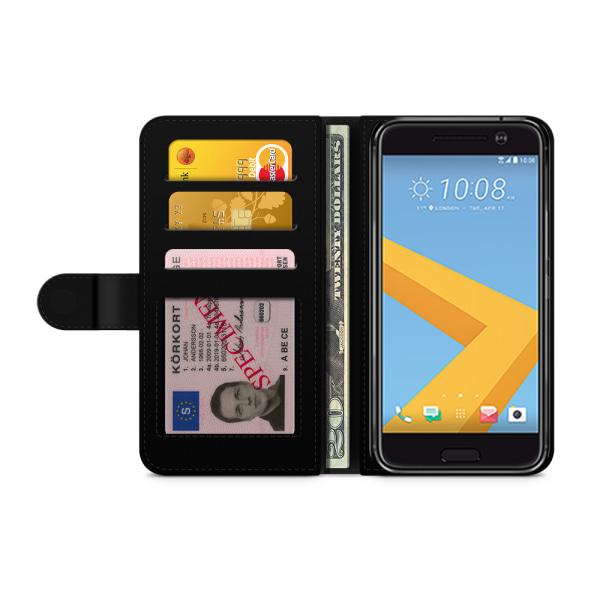 Bjornberry Plånboksfodral HTC 10 - DANGER