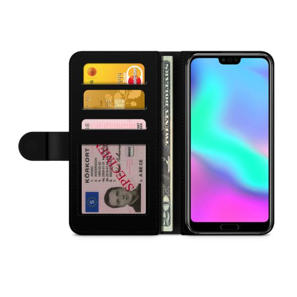 Bjornberry Plånboksfodral Huawei Honor 10 - Rosor