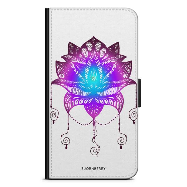 Bjornberry Plånboksfodral Huawei Honor 10 - Lotus Blomma