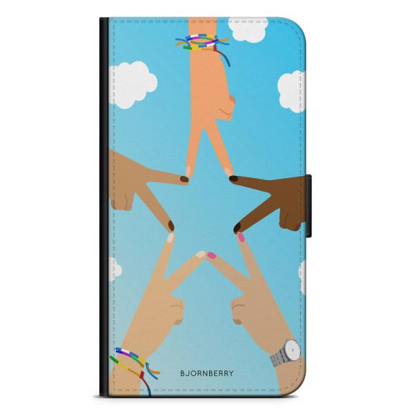 Bjornberry Plånboksfodral Huawei Honor 5X - Händer Stjärna