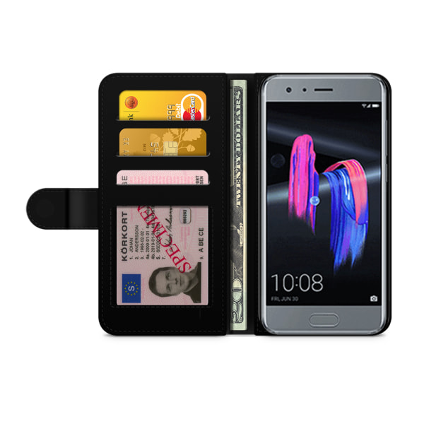 Bjornberry Plånboksfodral Huawei Honor 9 - Öga