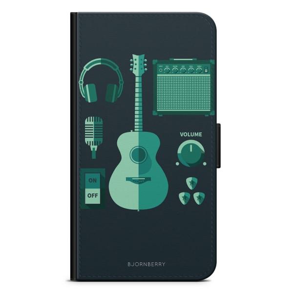 Bjornberry Plånboksfodral Huawei Mate 9 - Gitarr