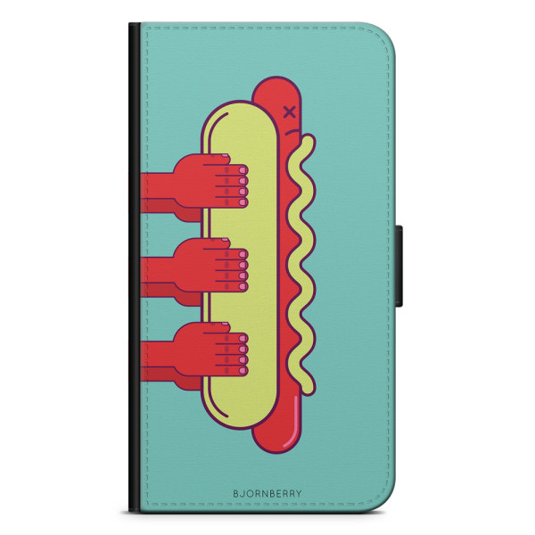 Bjornberry Plånboksfodral Huawei Mate 9 - Hot Dog