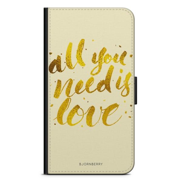 Bjornberry Plånboksfodral Huawei P20 - All You Need is Love