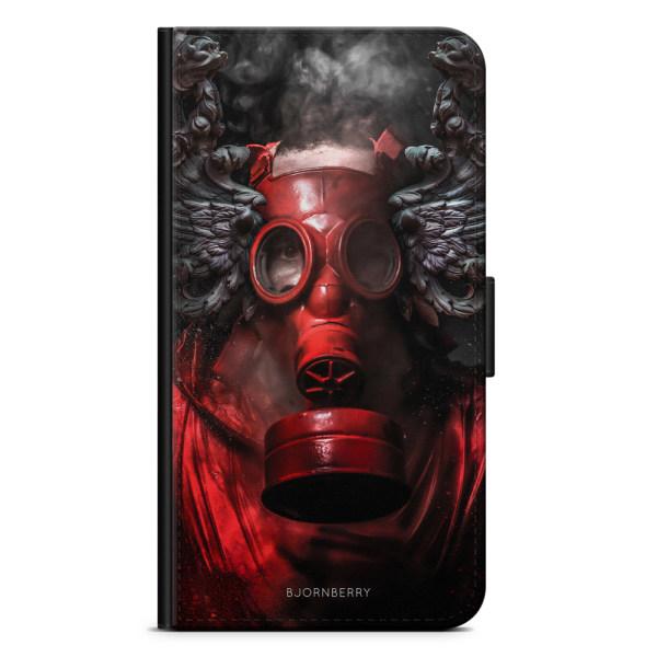 Bjornberry Plånboksfodral Huawei P8 Lite - Gas Mask