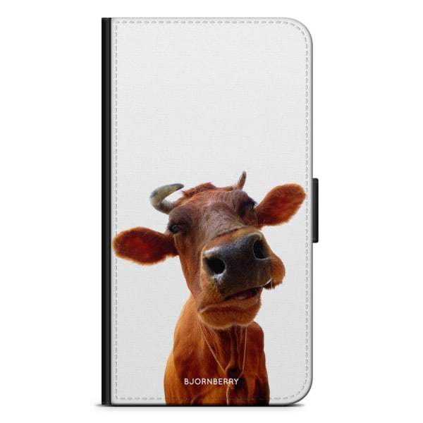 Bjornberry Plånboksfodral Huawei P8 Lite - Ko