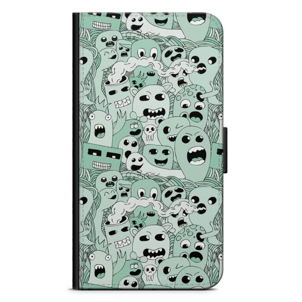 Bjornberry Plånboksfodral Huawei P8 Lite - Spökmönster