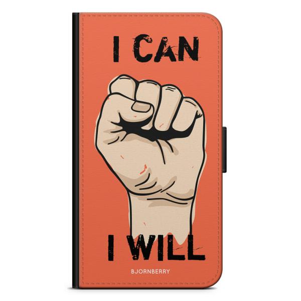 Bjornberry Plånboksfodral Huawei P9 - I CAN I WILL